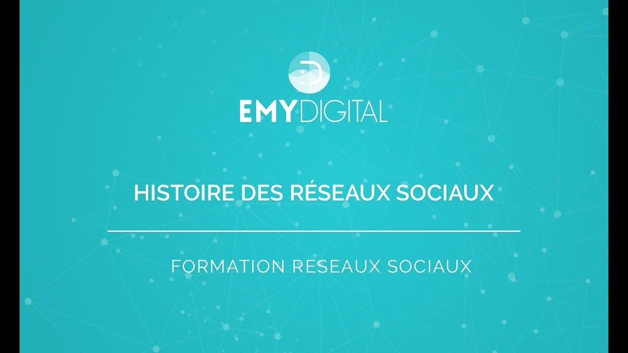 Download Réseaux sociaux - Histoire des réseaux sociaux