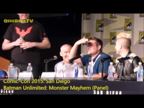 Comic-Con 2015: Batman Unlimited: Monster Mayhem (Panel)