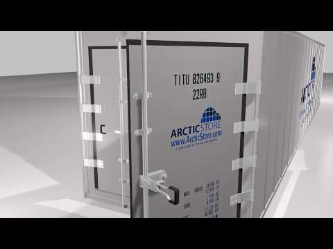 ArcticStore 3D product animation video │TITAN Containers