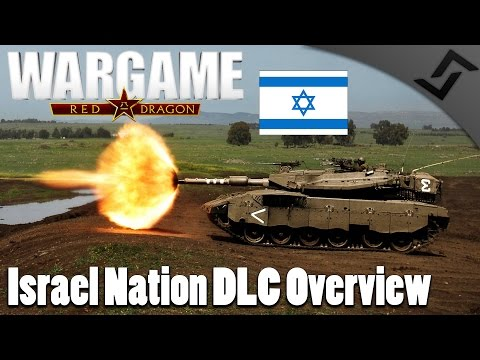 Israel Nation DLC Overview - Wargame: Red Dragon Israel Deck