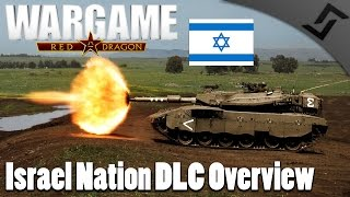 Israel Nation DLC Overview - Wargame: Red Dragon Israel Deck