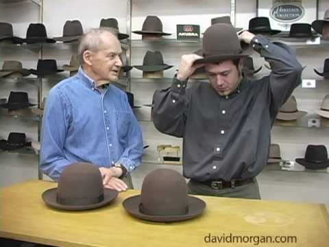 Measure your head for a hat  David Morgan Presents Akubra - YouTube ee5d5b51fd4
