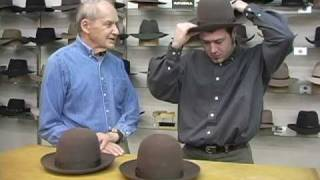 Measure your head for a hat:  David Morgan Presents Akubra