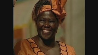 Faces of Africa - Wangari Maathai: Eco warrior with a smile
