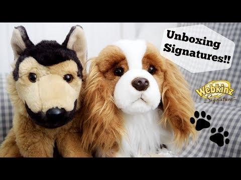 Webkinz Signature Dog Unboxing!!