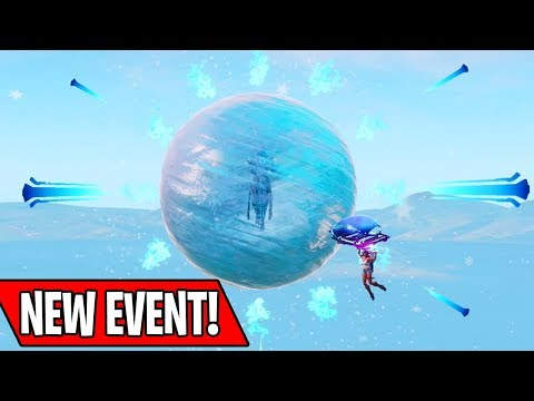 NEW ICE SPHERE KING EVENT IN FORTNITE! (New Season 7 Live Event)