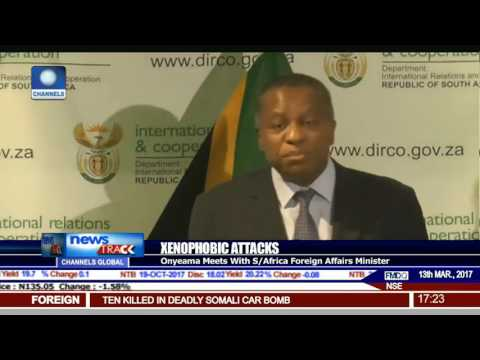 Xenophobic Attacks: Onyeama Meets With S/Africa Foreign Affairs Minister
