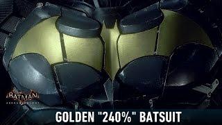 MESH; Batman; Arkham Knight; Golden 240% Batsuit