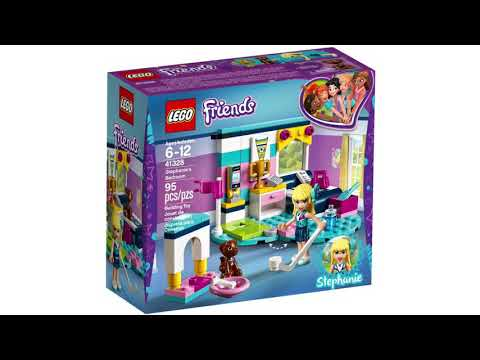 Lego Friends 41328 Stephanies Bedroom Youtube