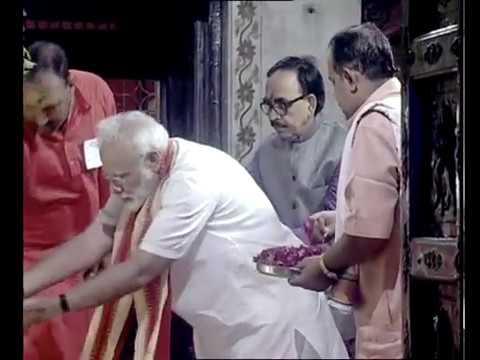 PM Modi visits Durga Kund and Darshan at Durga Mata Temple
