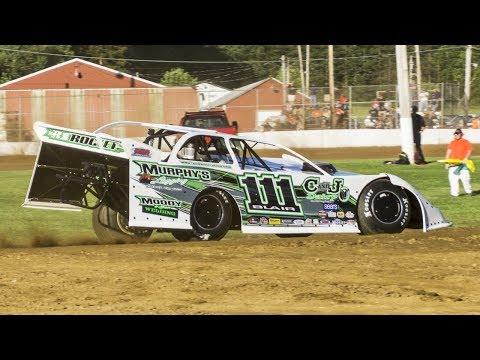 Max Blair #111 | In-Car Camera | McKean County Raceway | 6-20-17