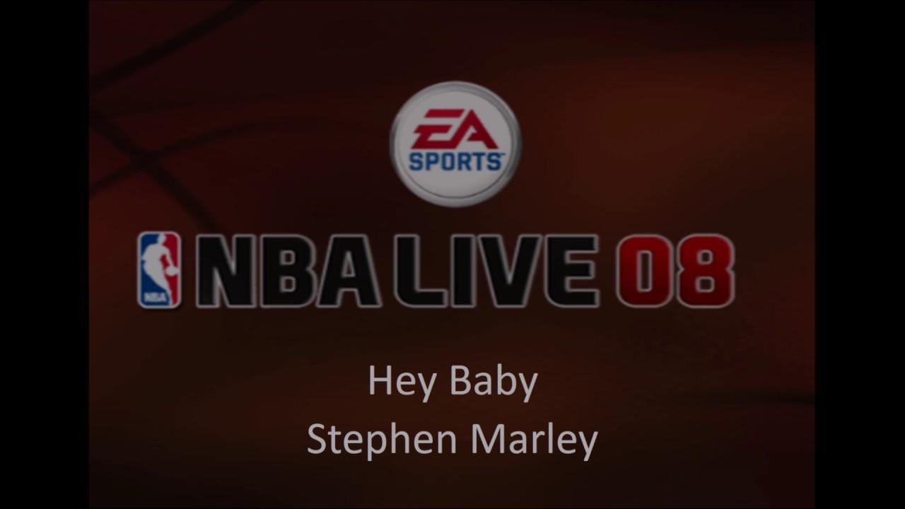 Stephen Marley  Hey Baby (nba Live 08 Edition)  Youtube