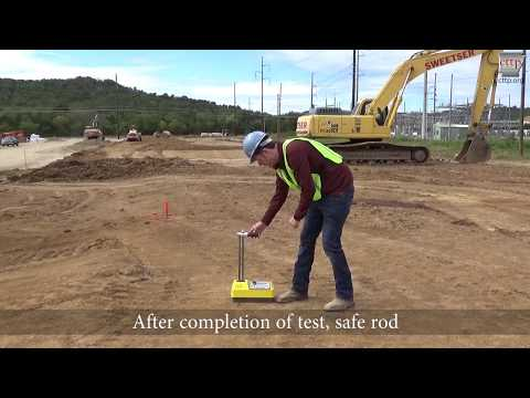 AASHTO T 310 - Nuclear Density Gauge - Field Testing