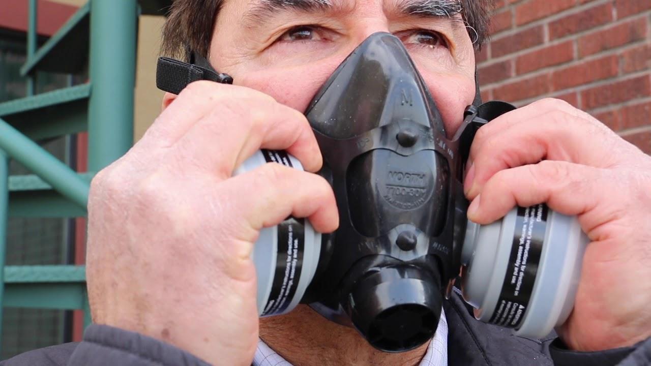 Prueba del ajuste requerida para el uso del respirador - YouTube