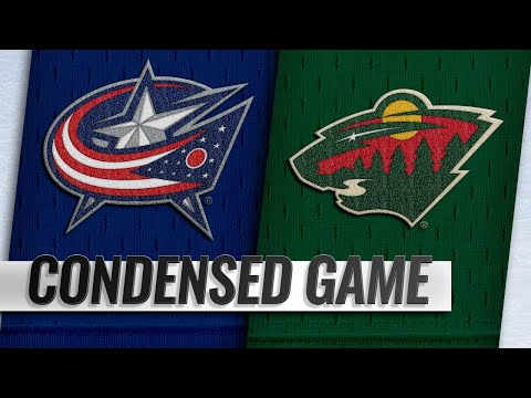 01/19/19 Condensed Game: Blue Jackets @ Wild