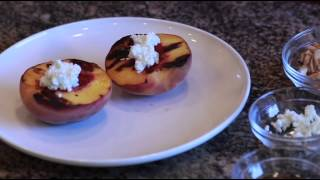 Grilled Peaches Dessert
