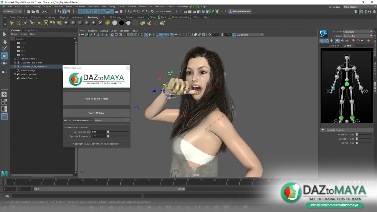 DazToMaya - Features | CG News | SKYLIGHT Creative Graphics