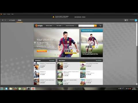 FIFA 15 Demo download with Origin .