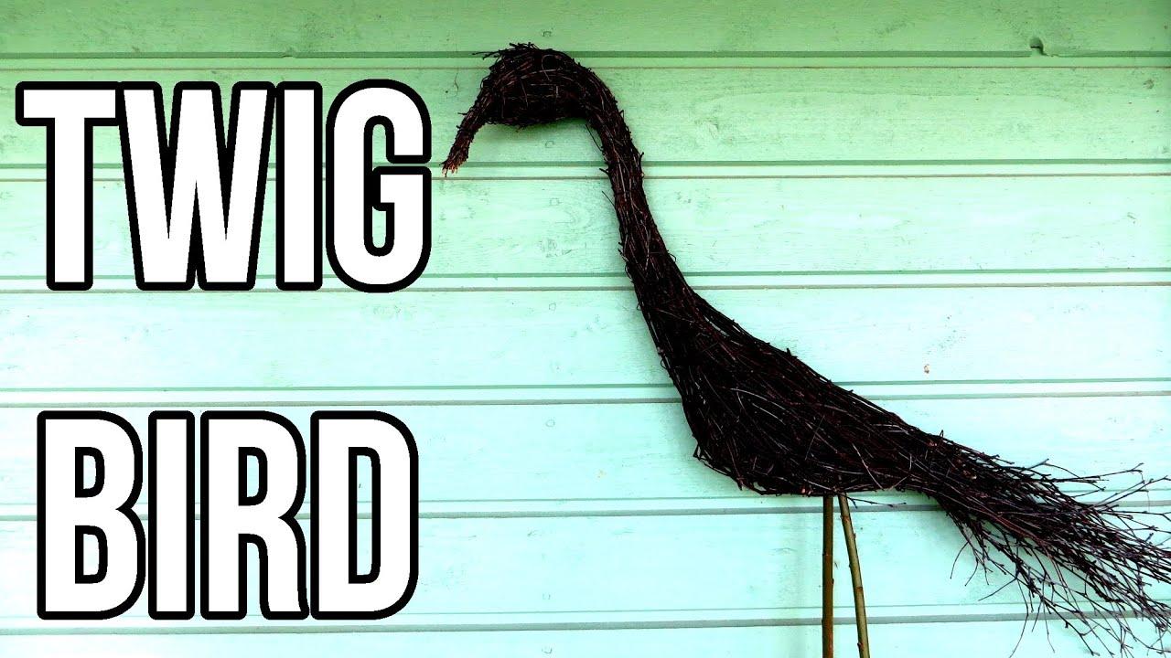 Twig Bird || DIY Nature Crafts - YouTube