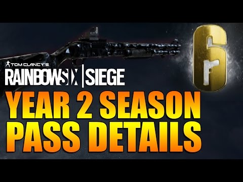 Rainbow Six Siege - In Depth:Year 2 Season Pass Details [UPDATED]