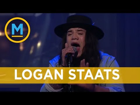 Logan Staats performs 'The Lucky Ones' for the first time on national television | Your Morning