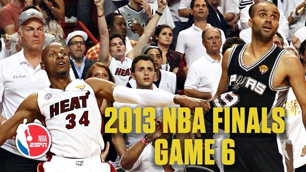 San Antonio Spurs vs. Miami Heat | 2013 NBA Finals Game 6