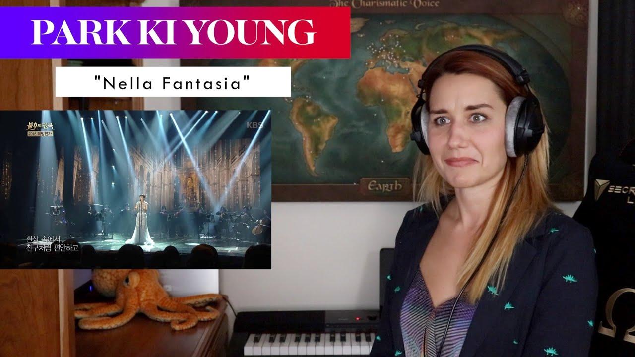 "Park Ki Young ""Nella Fantasia"" REACTION & ANALYSIS by Vocal Coach/Opera Singer"