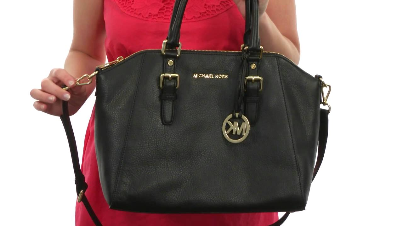 0f5cca6c6cde MICHAEL Michael Kors Bedford Large Tz Satchel SKU:#8382181 - YouTube