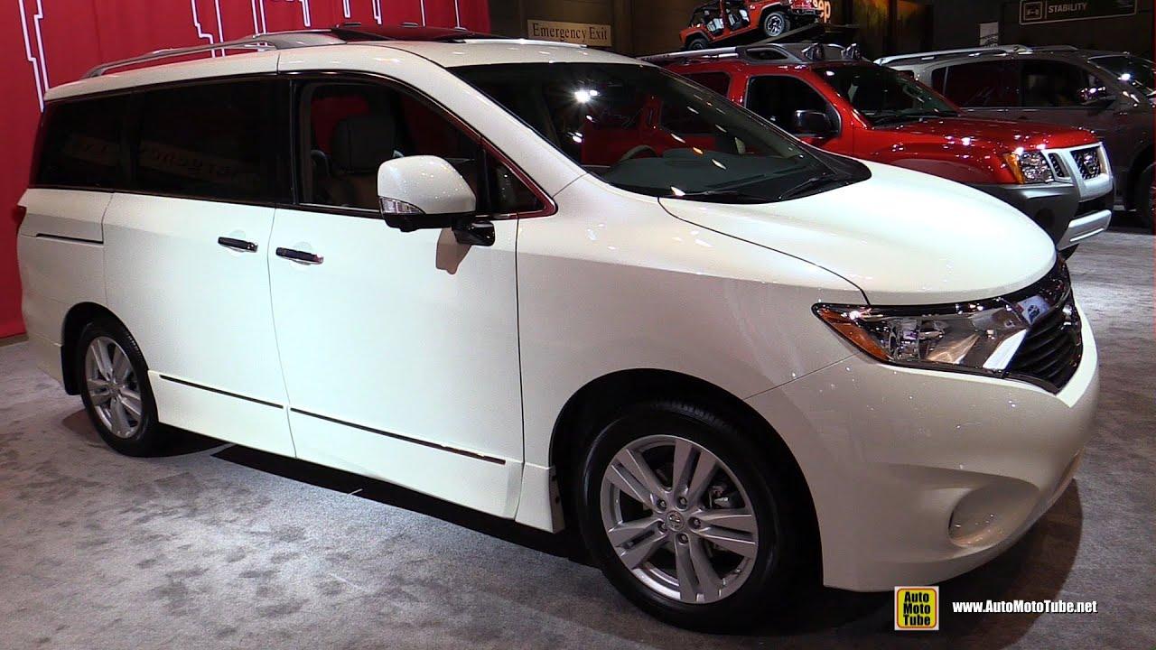 2017 Nissan Quest Platinum Exterior And Interior Walkaround Chicago Auto Show