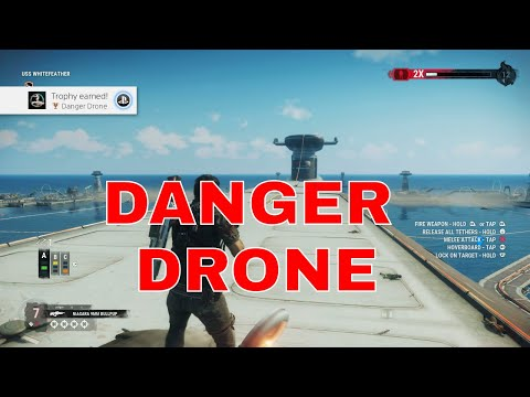 Just Cause 4 - Danger Rising - Danger Drone Trophy |