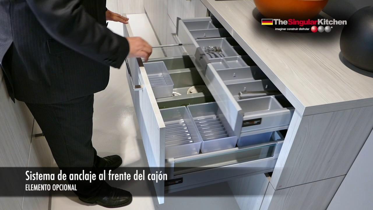 Soluciones para gavetas en muebles de cocina - YouTube