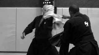 Knife self defense - How to use a Cape, Jacket, towel or a scarf against armed attack - AKBAN
