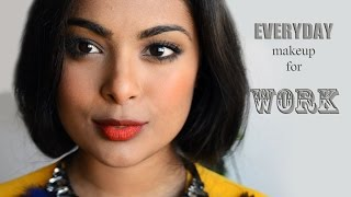 Everyday Makeup For Work: Chatty Get ready With Me (Dark/ Tan/ Indian skin friendly)