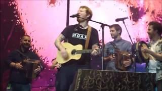 Ed Sheeran ft Beoga -  Galway Girl Live Dublin