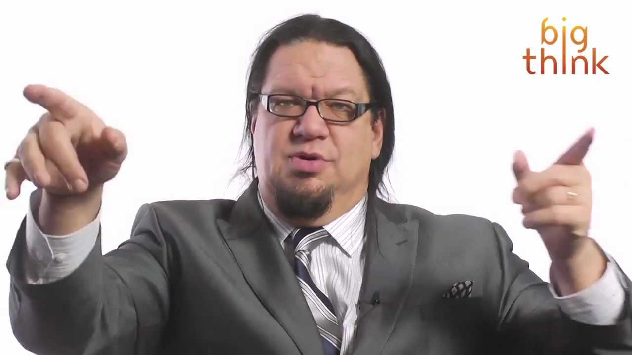 Penn Jillette Why Celebrity Ice S Away Your Will You