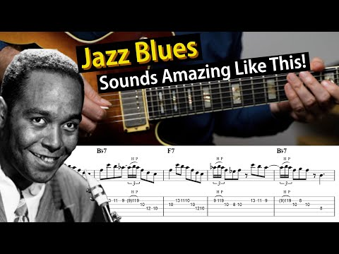 Jazz Blues - 3 Easy Techniques That Make You Sound Better
