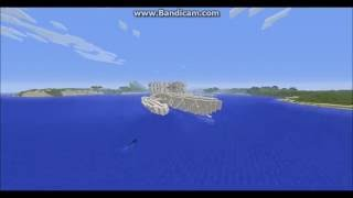 Yacht de Luxe sur Minecraft
