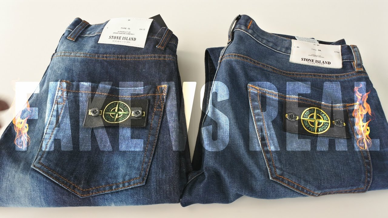 How To Spot Fake Stone Island Jeans