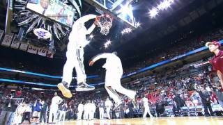 Repeat youtube video LeBron's AMAZING pre-game dunk show!