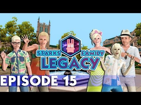 The Sims 3: Starks Family Legacy Challenge -(Episode 15)- University Drop Outs!