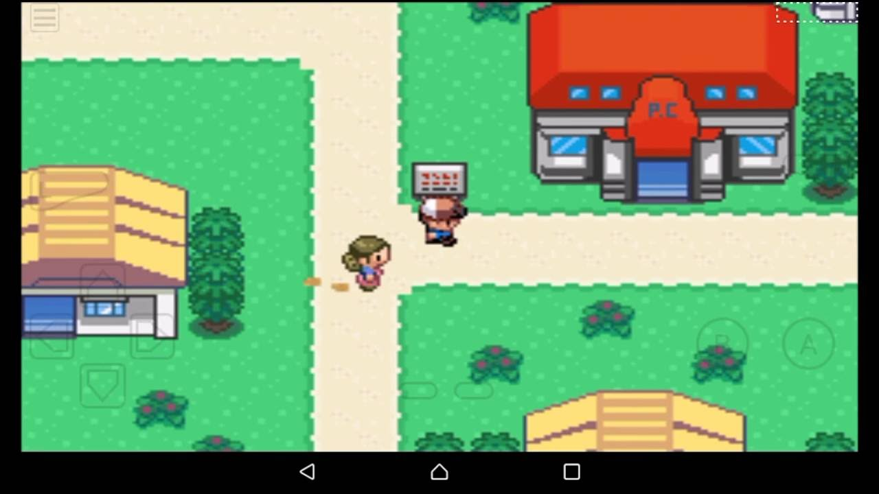 pokemon x and y gba  zip for android