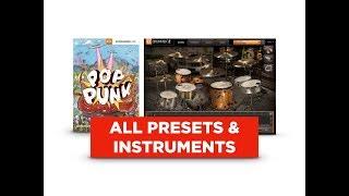 Toontrack Pop Punk EZX: ALL Presets & Instruments