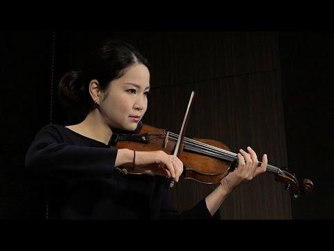 バイオリニスト 神尾真由子さん 協奏とデュオと無伴奏を語る