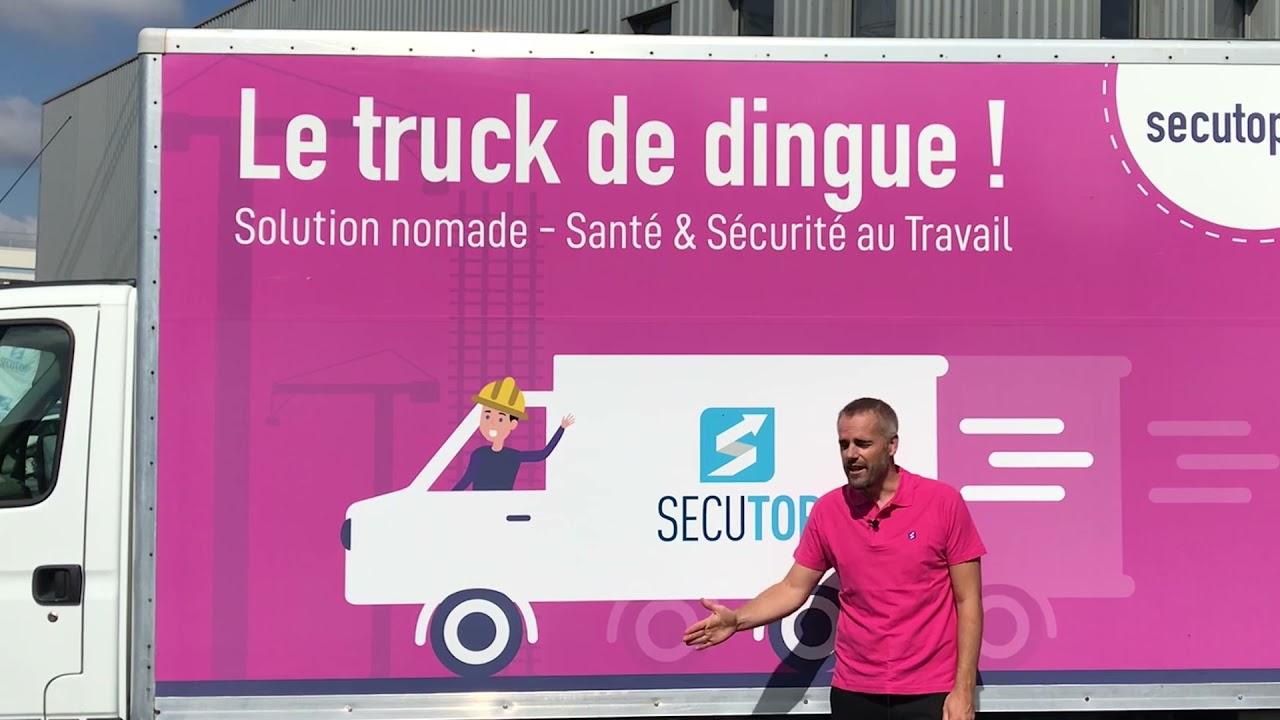 Formatop lance SecuTRUCK: le truck de dingue qui va révolutionner votre santé & sécurité au travail.