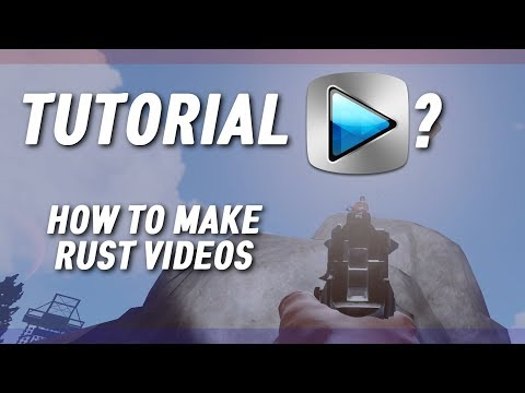 HOW TO MAKE RUST YOUTUBE VIDEOS ㆍ Sony Vegas TUTORIAL