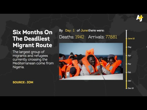 Six Months on the Deadliest Migrant Route | AJ+
