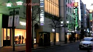 Japan Trip 2013 Tokyo Ginza ROLEX Marugen Night view 083