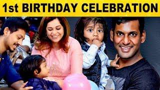 1st Birthday Celebration Of Thieyash Sai – S/O Manager To Vishal!