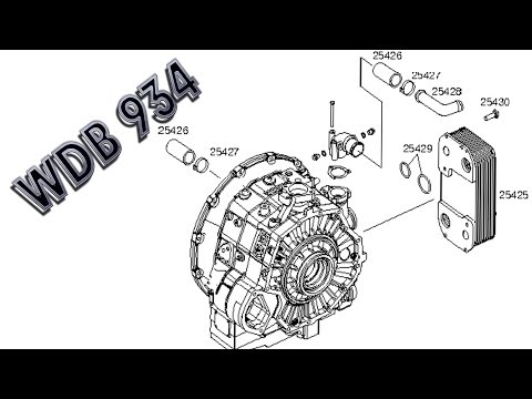Mercedes Benz Actros | WDB 934, Clutch operation, Torque converter, Turbo coupling, thumbnail