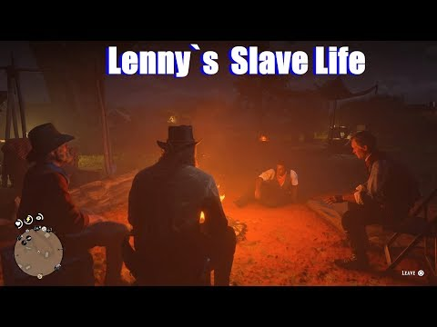 RDR2 Lenny Talks About Slave Life - Red Dead Redemption 2 PS4 Pro thumbnail